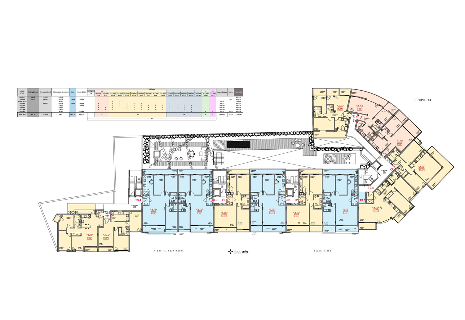 atrium lagoa house plans image